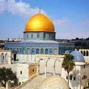 Al Aqsa Including Dome of the Rock and Qibly Masjid, Jerusalem