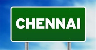 100 Things to Do in Chennai