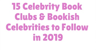 Combined Celebrity Book Club Book List