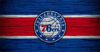 NBA Philadelphia 76Ers Notable Players (2000-2020)