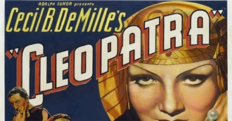 Films101 - Cecil B De Mille - Director and Producer - Most Notable Films