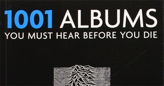 1001 Albums You Must Hear Before You Die (All Editions Combined)