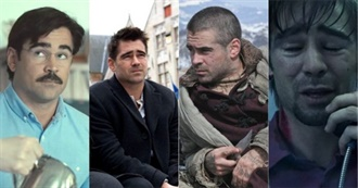 Colin Farrell Current Filmography (2020)