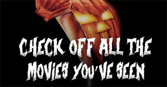 How Many Halloween Movies Have You Actually Seen?
