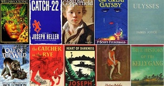 The Guardian - 100 Best Novels