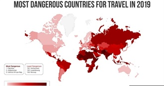 Most Dangerous Countries in the World 2019 – Ranked