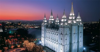 Temples of the Church of Jesus Christ of Latter Day Saints (2017)
