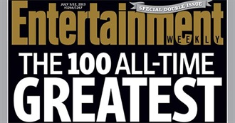 Entertainment Weekly's 100 Greatest Novels Ever