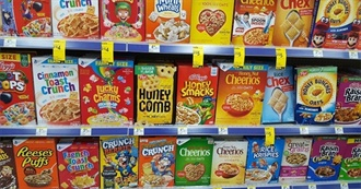 All of the Cereal