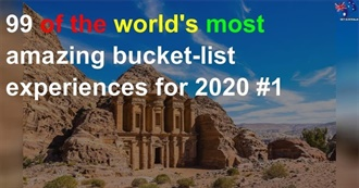 99 of the World's Most Amazing Bucket List Experiences for 2020