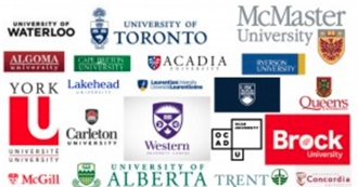 Canadian Universities Reading List Selections