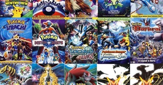 All Pokemon Movies