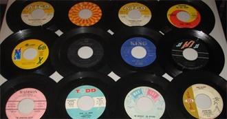 10 Rare Rock-and-Roll 45s From the 1950s