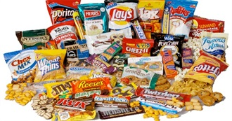100 Best Snacks of All Time