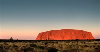 TOP 10 Travel List : Australia