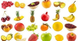 How Many Fruits Have You Had?