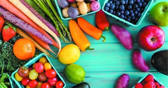 The Ultimate List of Fruits and Veggies