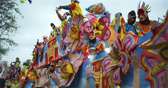 U.S. Cities That Have Mardi Gras/Carnival Parades