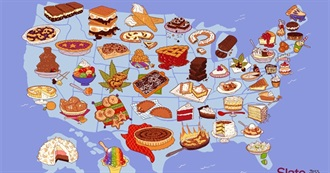 Iconic Desserts From Each American State