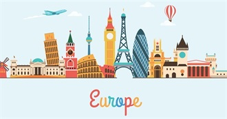 Places C. Wants to Visit in Europe in the Near Future