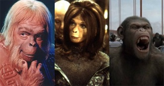 Planet of the Apes Franchise Films