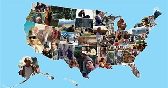 50 American States, 50 Movies