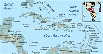 Countries and Capitals in the Caribbean