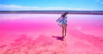 60 Shades of Pink for Your Travel Bucket List