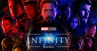 The Infinity Saga in Order of Release Date