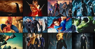 How Many of These Many Superhero Movies Have You Seen?