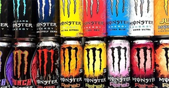 All Monster Flavours