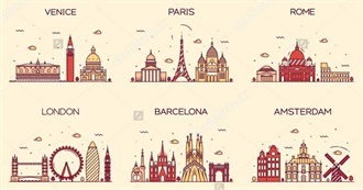 119 Cities in Europe