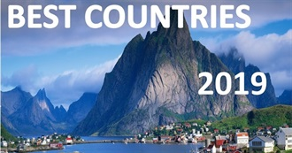 80 Best Countries in the World for 2019