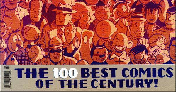 The Comic Journal's Top 100 Comics of the 20th Century