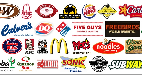 Image result for fast food restaurants