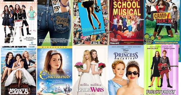 Top chick flicks recent celebrity