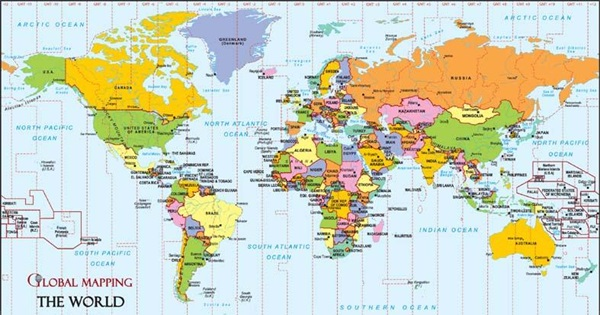 Map Of World With Capitals.All The World Capitals How Many Have You Been To