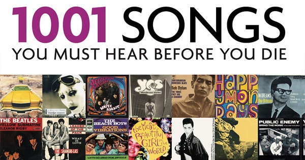 1001 Songs You Must Hear Before You Die 2017 Edition
