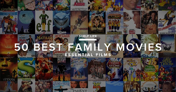 Gear Patrol's 50 Best Family Movies of All Time - How many ...