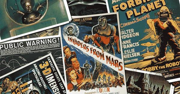 100 Science Fiction Movies of the 50s 60s
