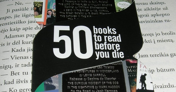 50 Books To Read Before You Die How Many Have You Read