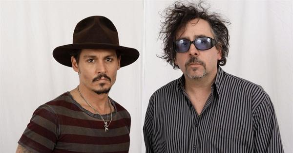 relajado hacer clic cesar  Tim Burton and Johnny Depp Movies