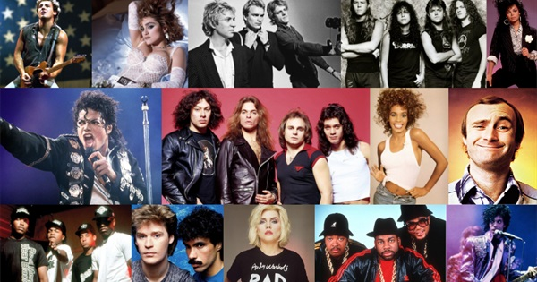 100 Most Iconic Artists of the 80s
