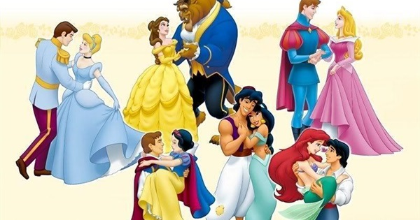 All Disney Princes And Princesses