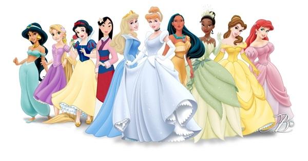 Disney Princess Films (1937-2015)