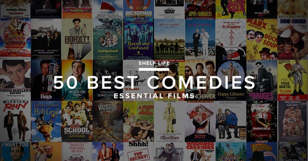 Top 50 best comedy movies of all time