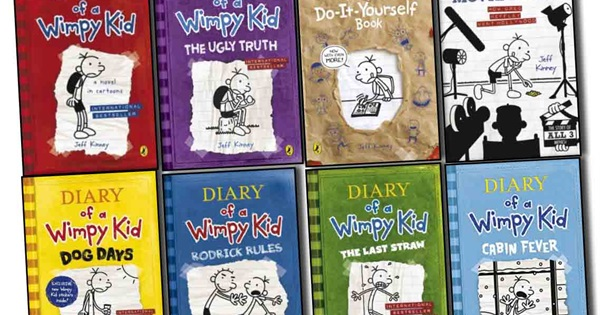 List of diary of a wimpy kid books how many have you read solutioingenieria Image collections