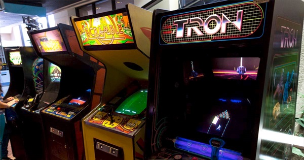 Classic Arcade Games Up Until the 90s