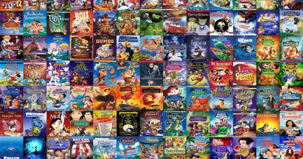 Animated movies list of disney