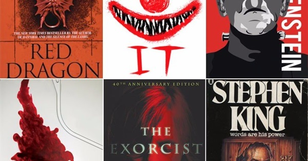 Popular Horror Books How Many Have You Dared To Read